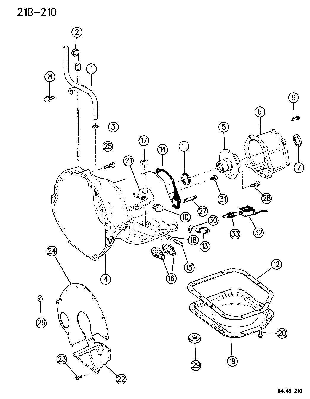 32rh transmission valve body diagram