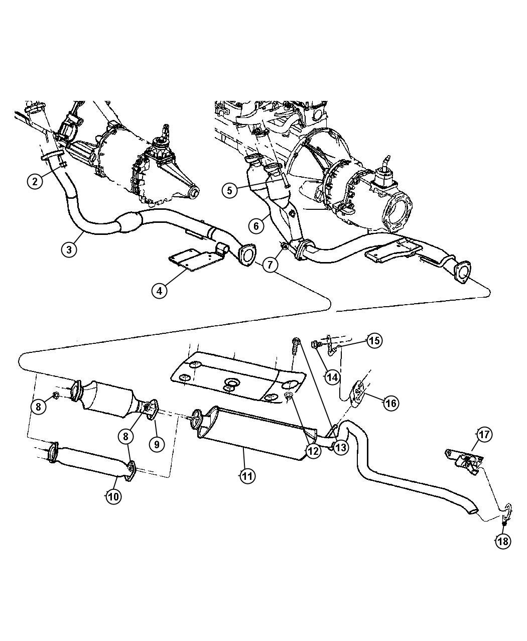 Diagram  1997 Jeep Wrangler Exhaust System Diagram Full Version Hd Quality System Diagram