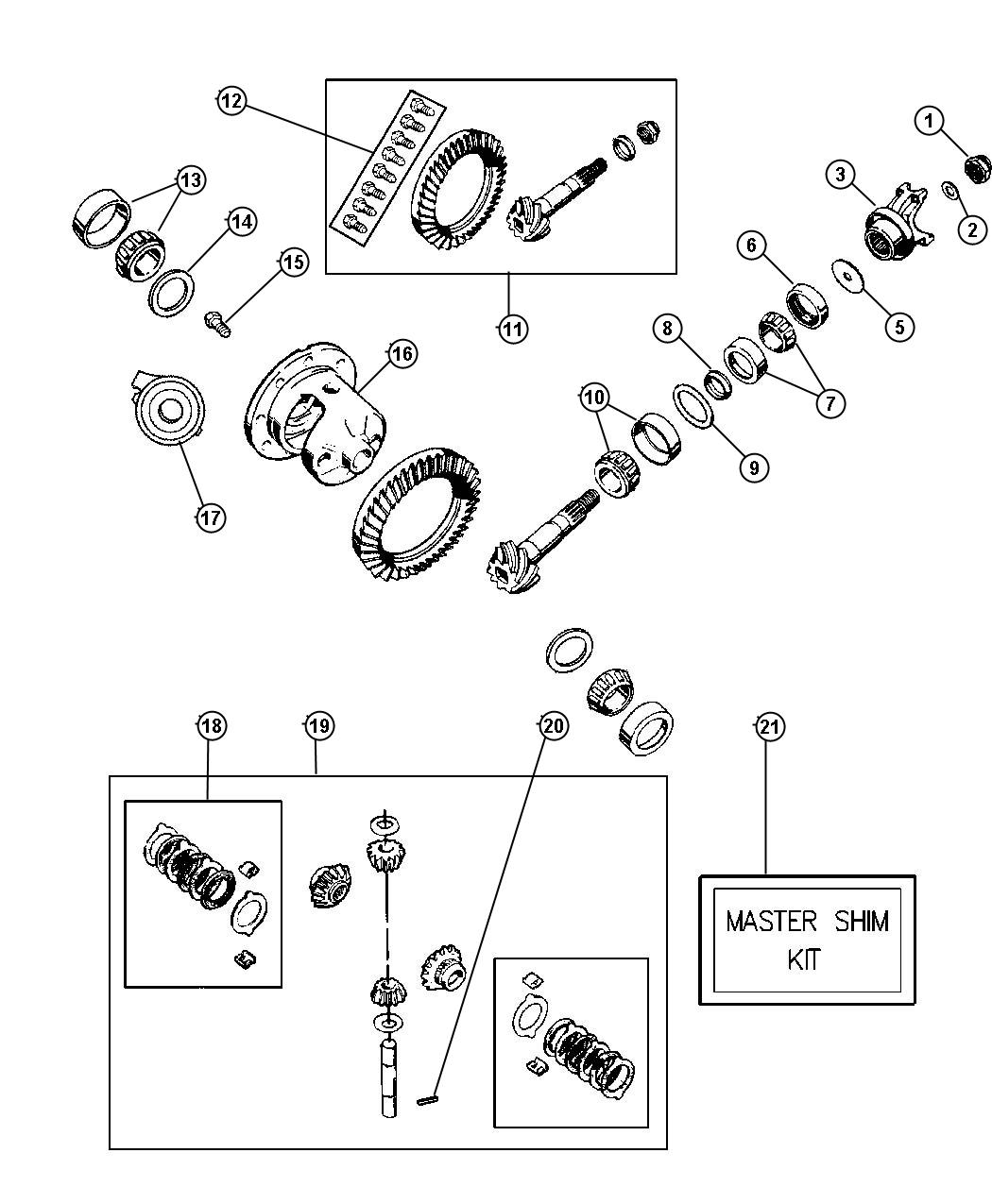 rear dana jeep 35 axle diagram html