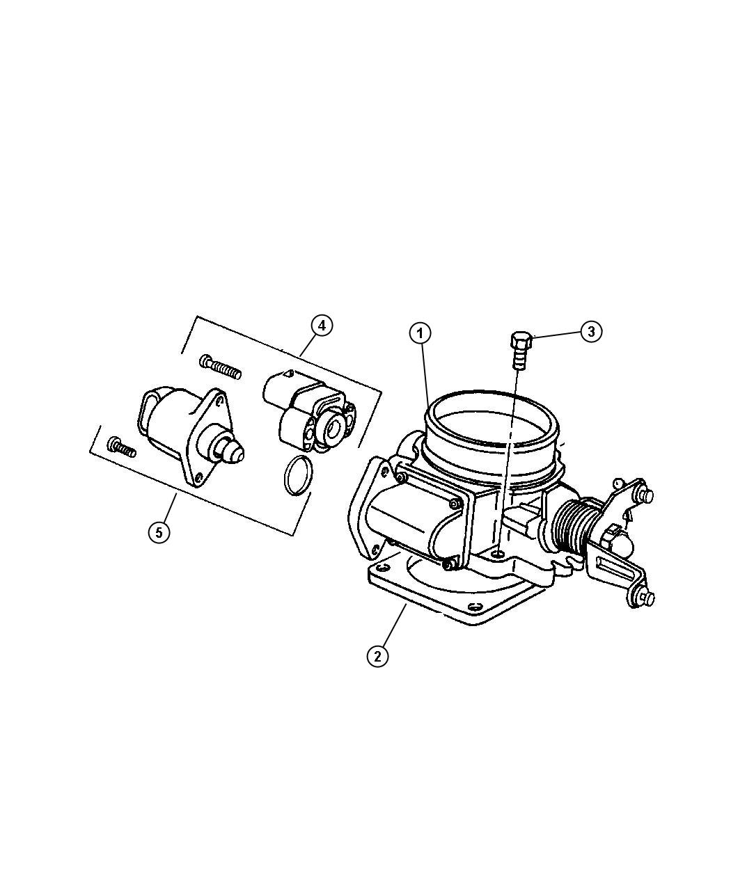 jeep liberty motor  a i s   air idle speed  throttle  body  engine