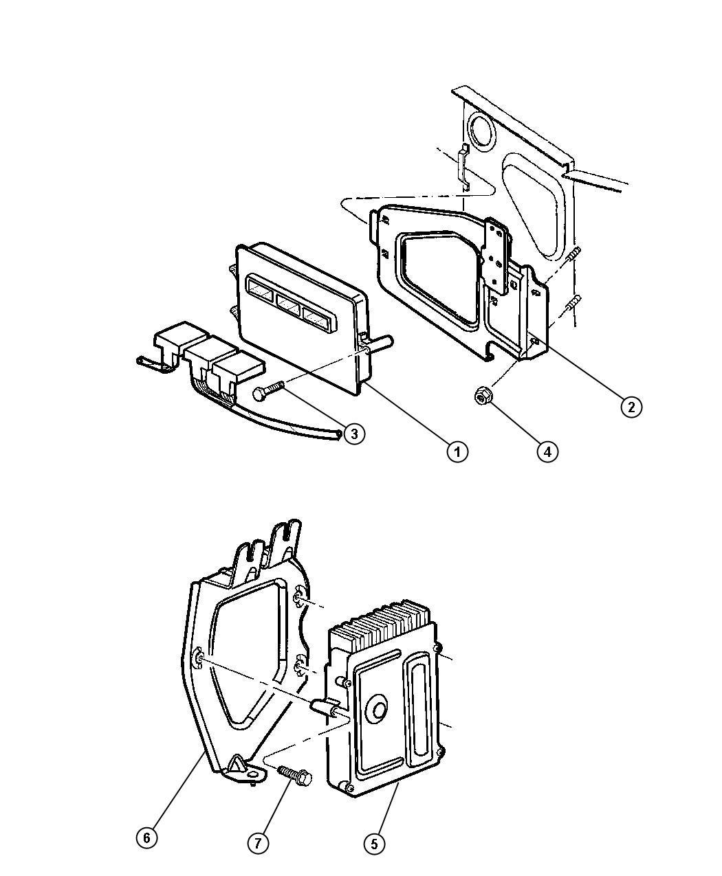 r6044632ae jeep module powertrain control. Black Bedroom Furniture Sets. Home Design Ideas
