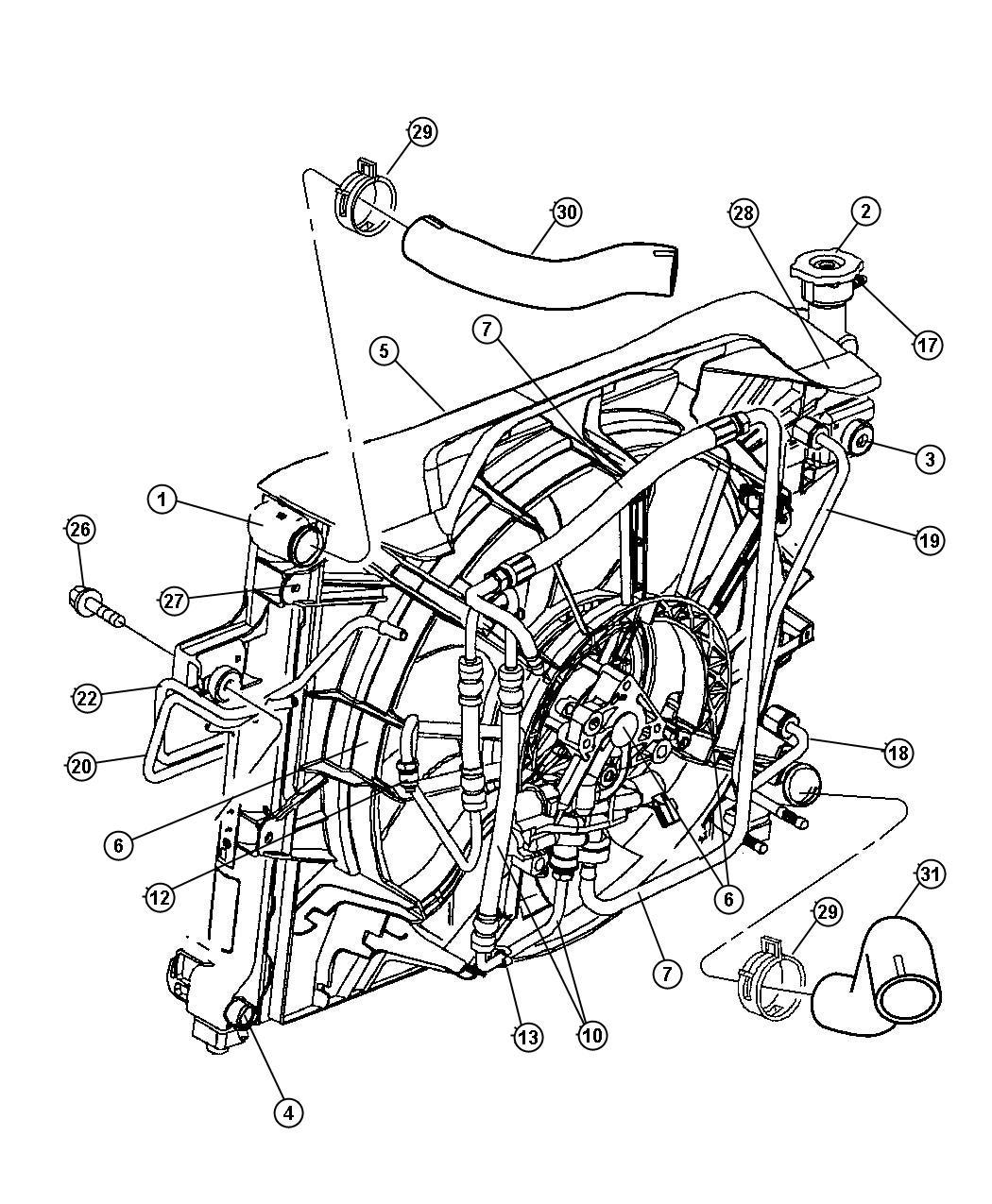 05143201AA - Jeep Solenoid. Hydraulic fan control ...