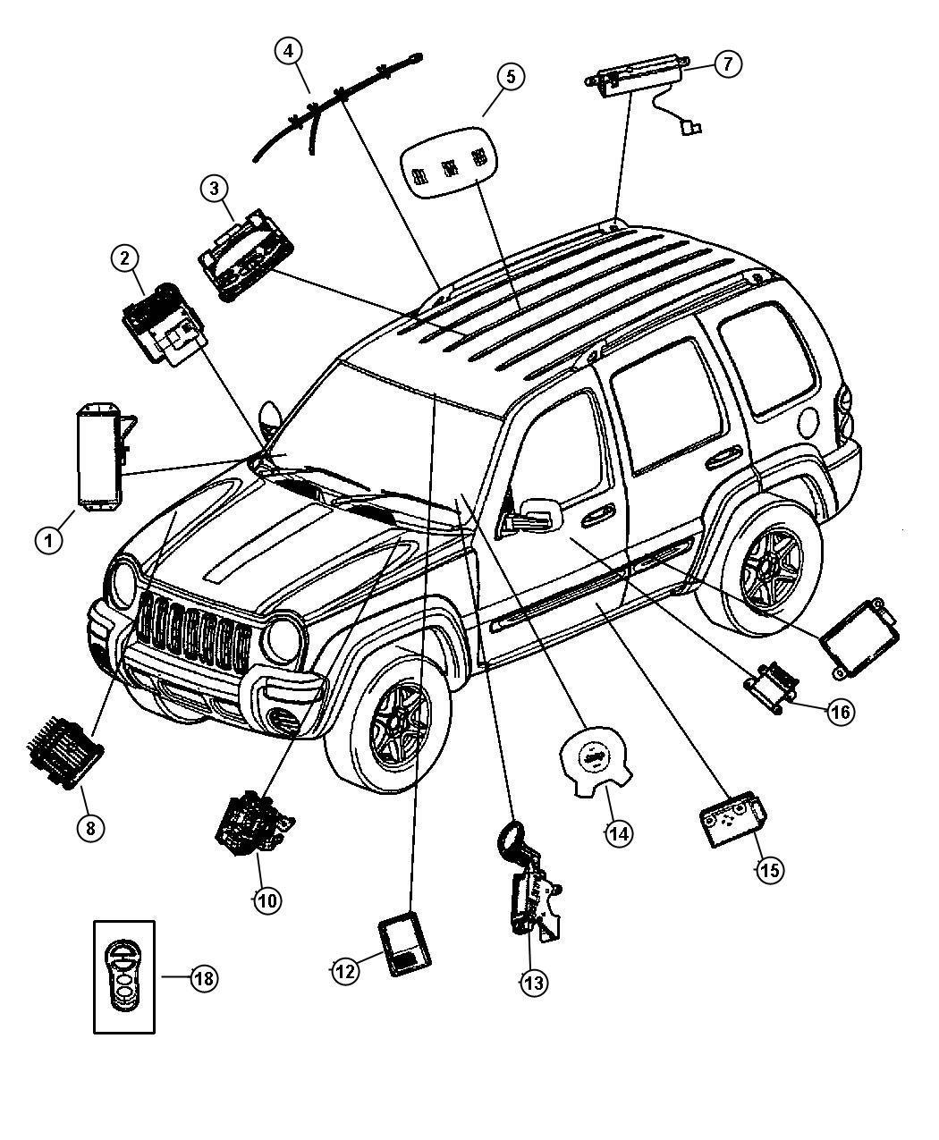 25 2004 Jeep Liberty Wiring Diagram