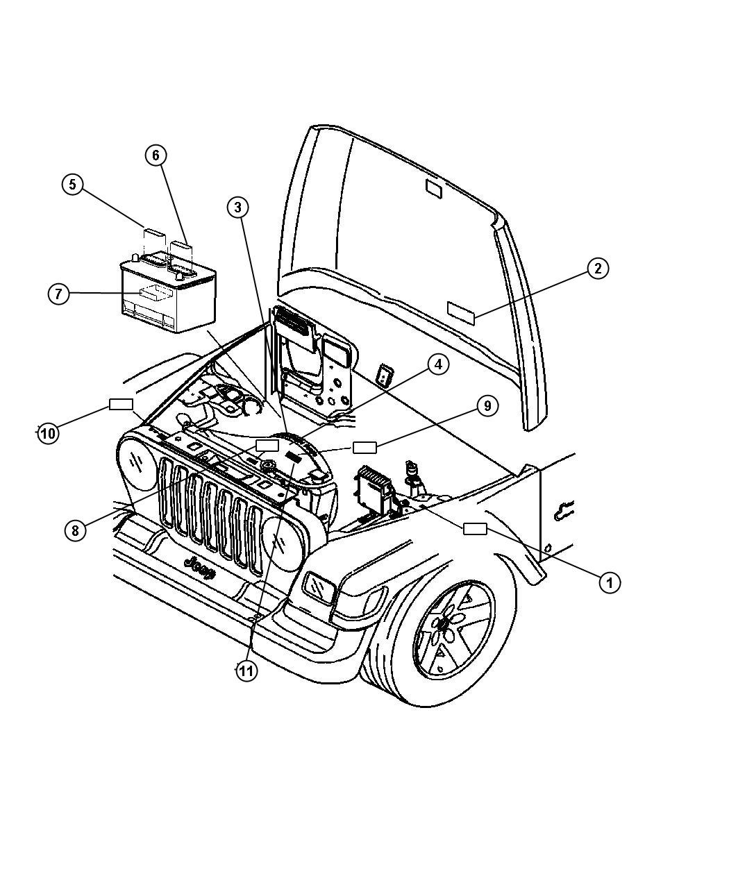 I on 2005 Jeep Wrangler Air Conditioning Diagram