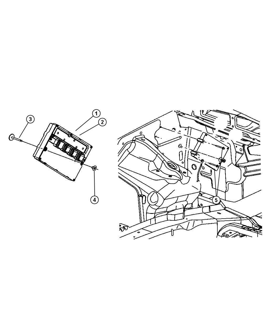 56044515ae jeep module powertrain control generic. Black Bedroom Furniture Sets. Home Design Ideas