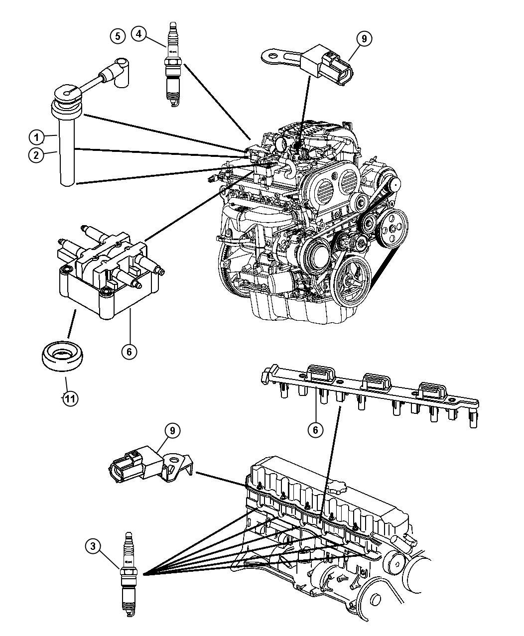 00i95711 Jeep Coil On Plug Wiring Diagram on coil over conversion kit, coil on plug ecu, coil pack diagram, 2005 mustang gt coil diagram, coil on plug bmw, coil on plug system, coil on plug conversion, ignition coil diagram, 1975 ford truck coil diagram, coil on plug specification, external resistor coil diagram, 3 wire plug diagram, coil with ignitor wiring-diagram, coil on plug engine,