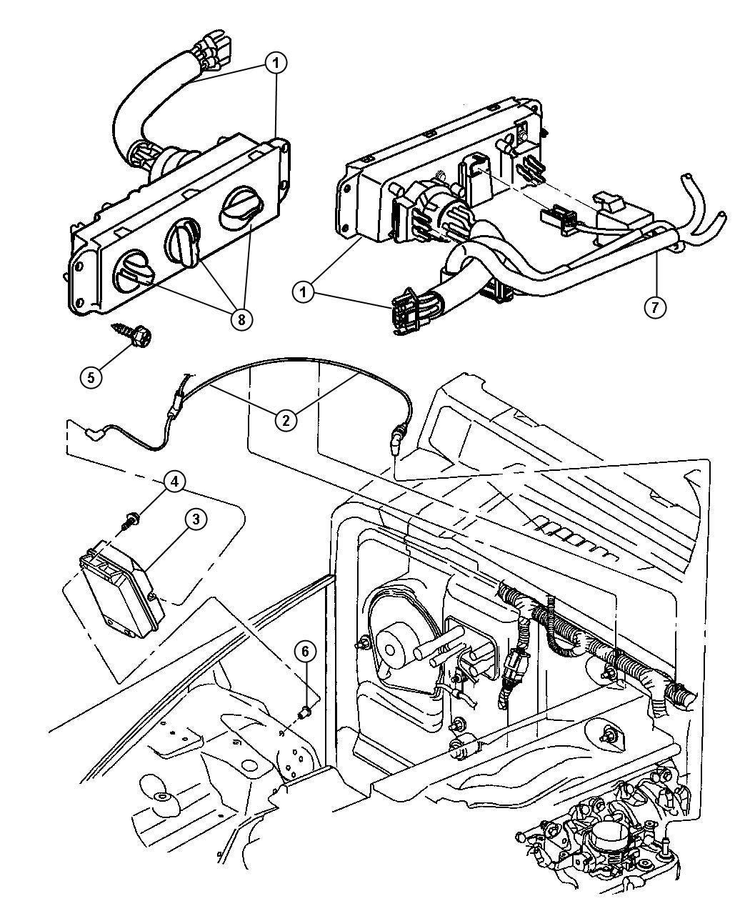 2001 Jeep Heater Control Diagram