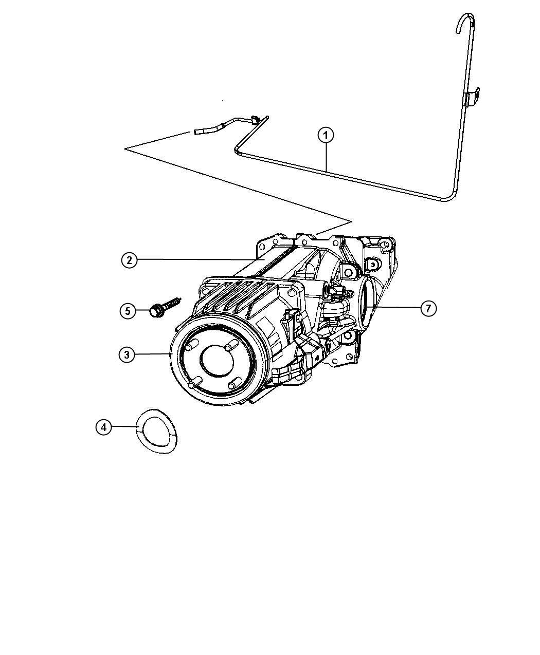 Jeep Patriot Differential  Rear Axle  Dav  Suspension
