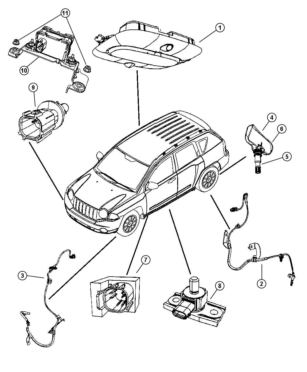 F430 Wheel Acceleration Sensors: Jeep Sensor. Dynamics. Lateral Acceleration
