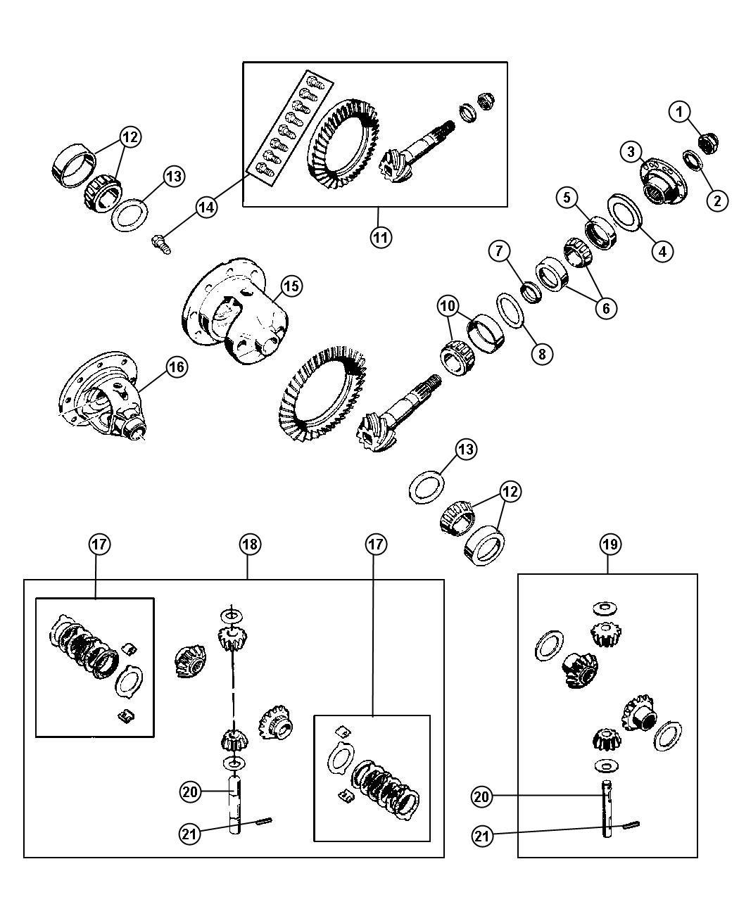 rear dana jeep 35 axle diagram html