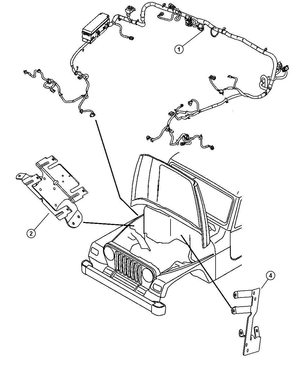 68027538ab jeep wiring dash dse dsh dsh rear. Black Bedroom Furniture Sets. Home Design Ideas