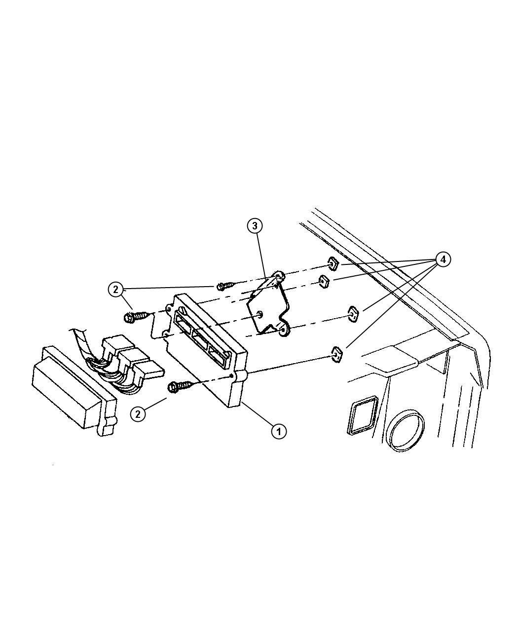 rl094149af jeep module powertrain control generic. Black Bedroom Furniture Sets. Home Design Ideas