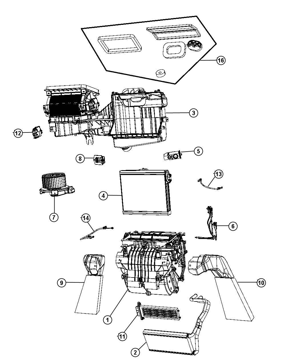 Jeep Wrangler Resistor  Blower Motor  Heater  Unit  Rhd