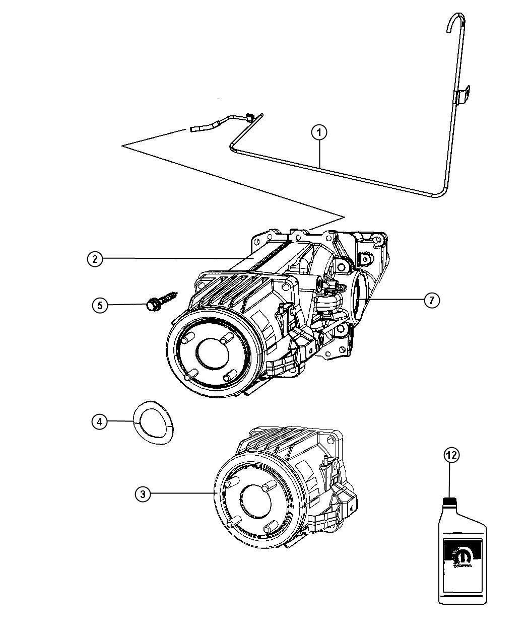 2014 jeep patriot differential  rear axle  daw  suspension