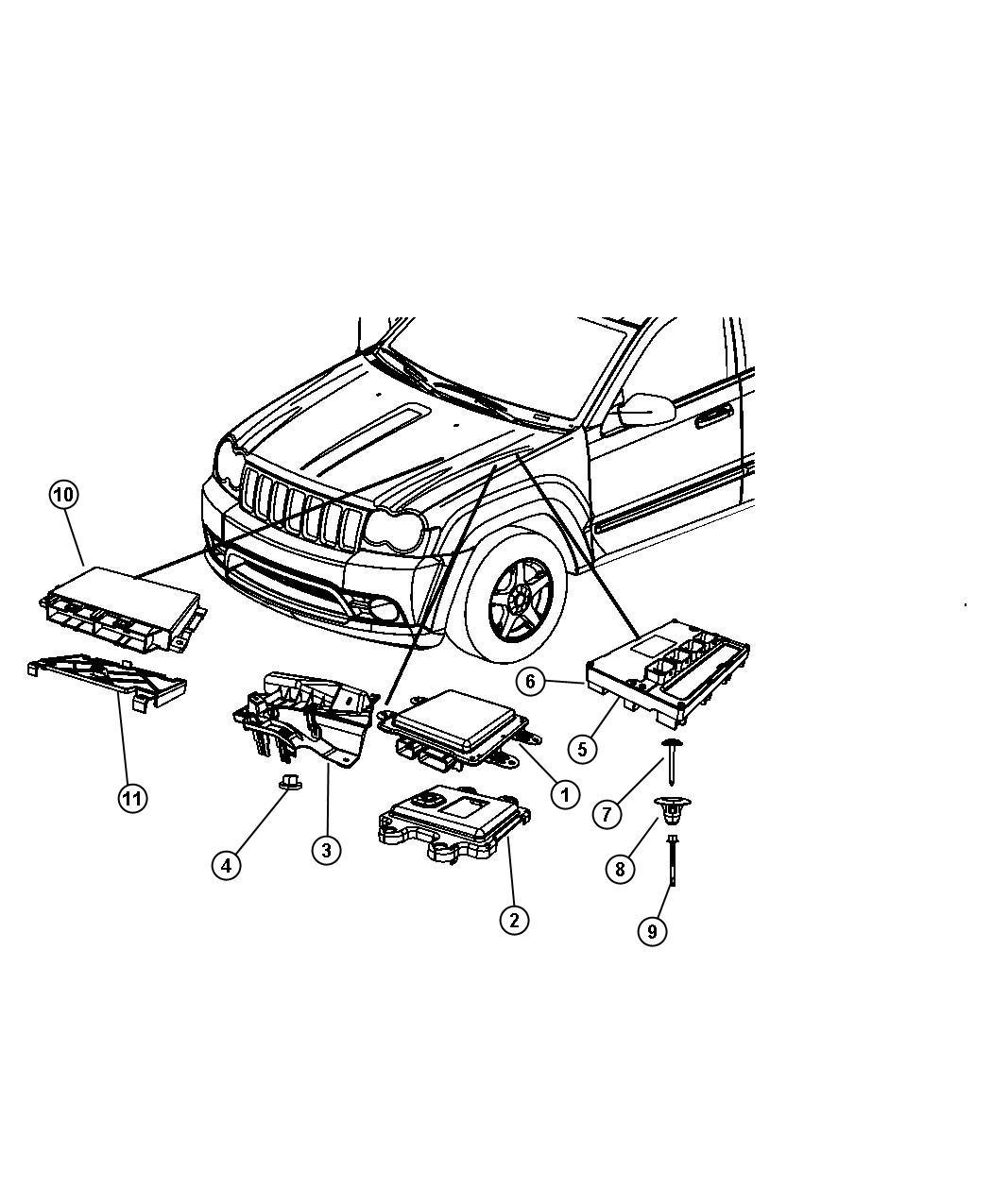 05150311ad - jeep module. powertrain control. generic ... 2010 jeep wrangler drivetrain diagram 2010 jeep wrangler wiring schematic