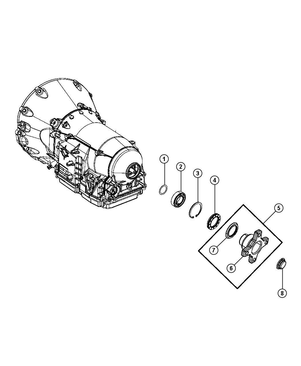 Ab jeep flange assembly output
