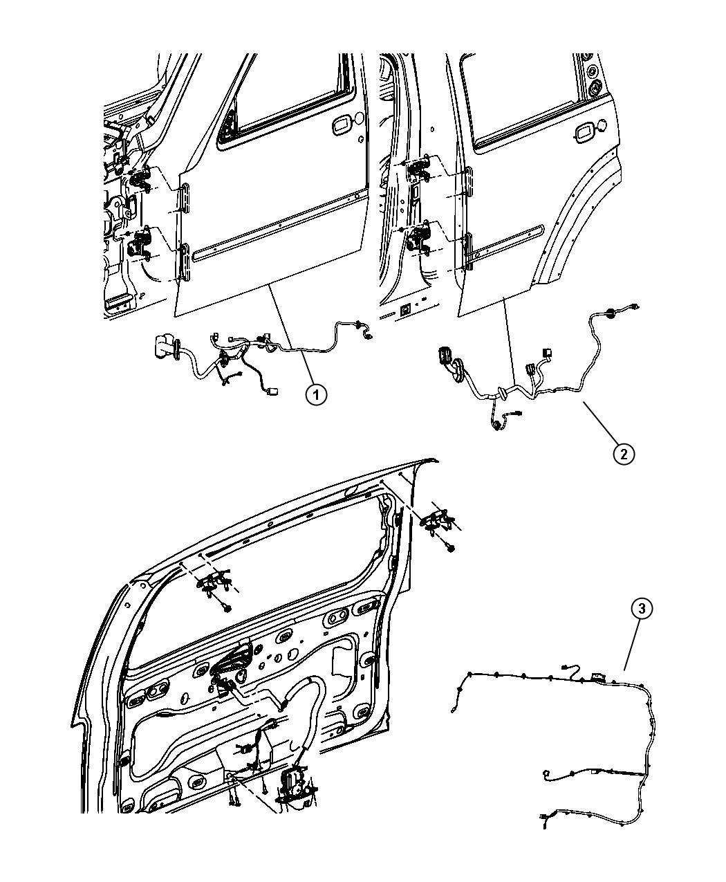 jeep wiring new viddyup Jeep CJ5 Steps 68061452ac jeep wiring right or left rear door rcy for jeep wiring