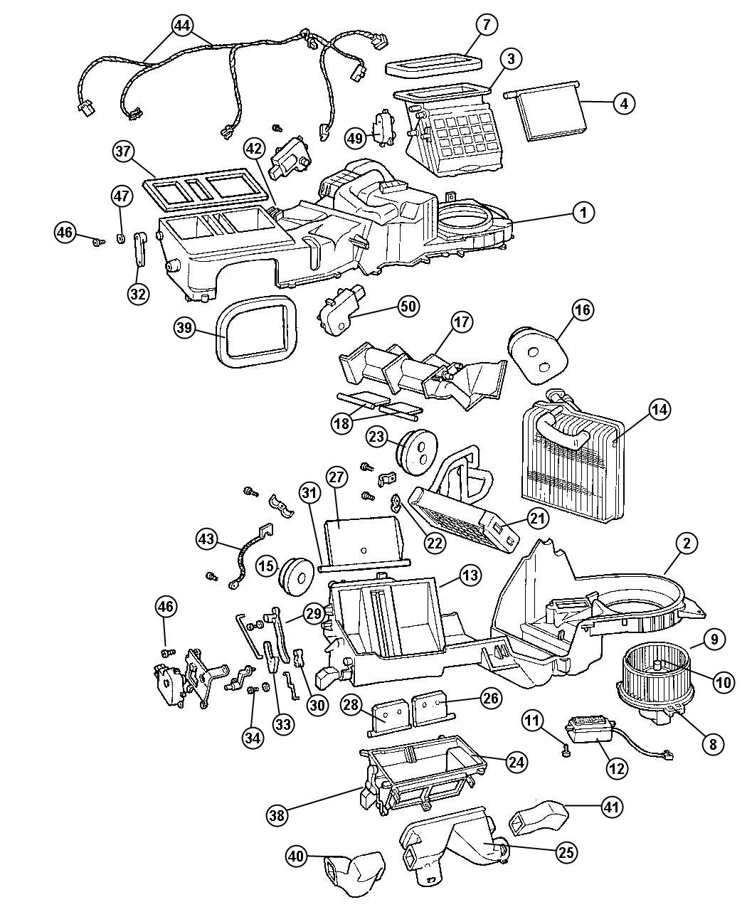 Diagram  2000 Jeep Cherokee Heater Diagram Full Version Hd Quality Heater Diagram