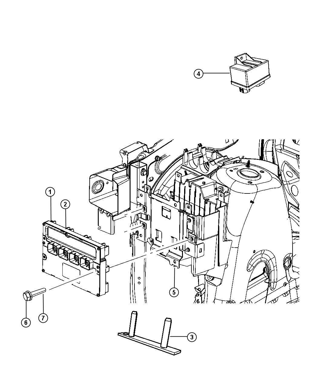 r5150582ac jeep module powertrain control generic. Black Bedroom Furniture Sets. Home Design Ideas