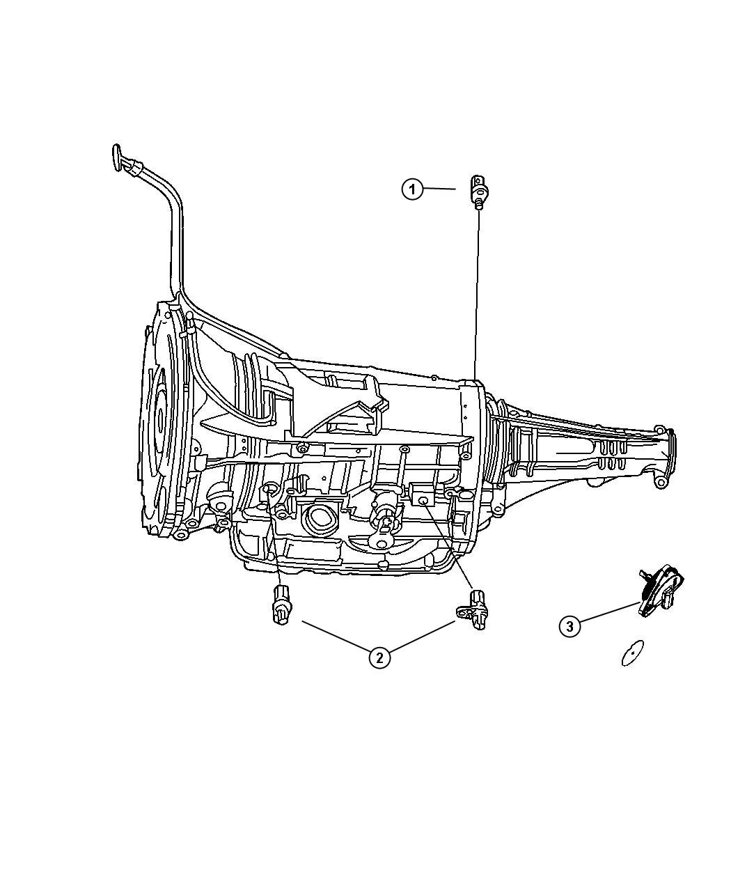 2005 Jeep Grand Cherokee Drivetrain Diagram