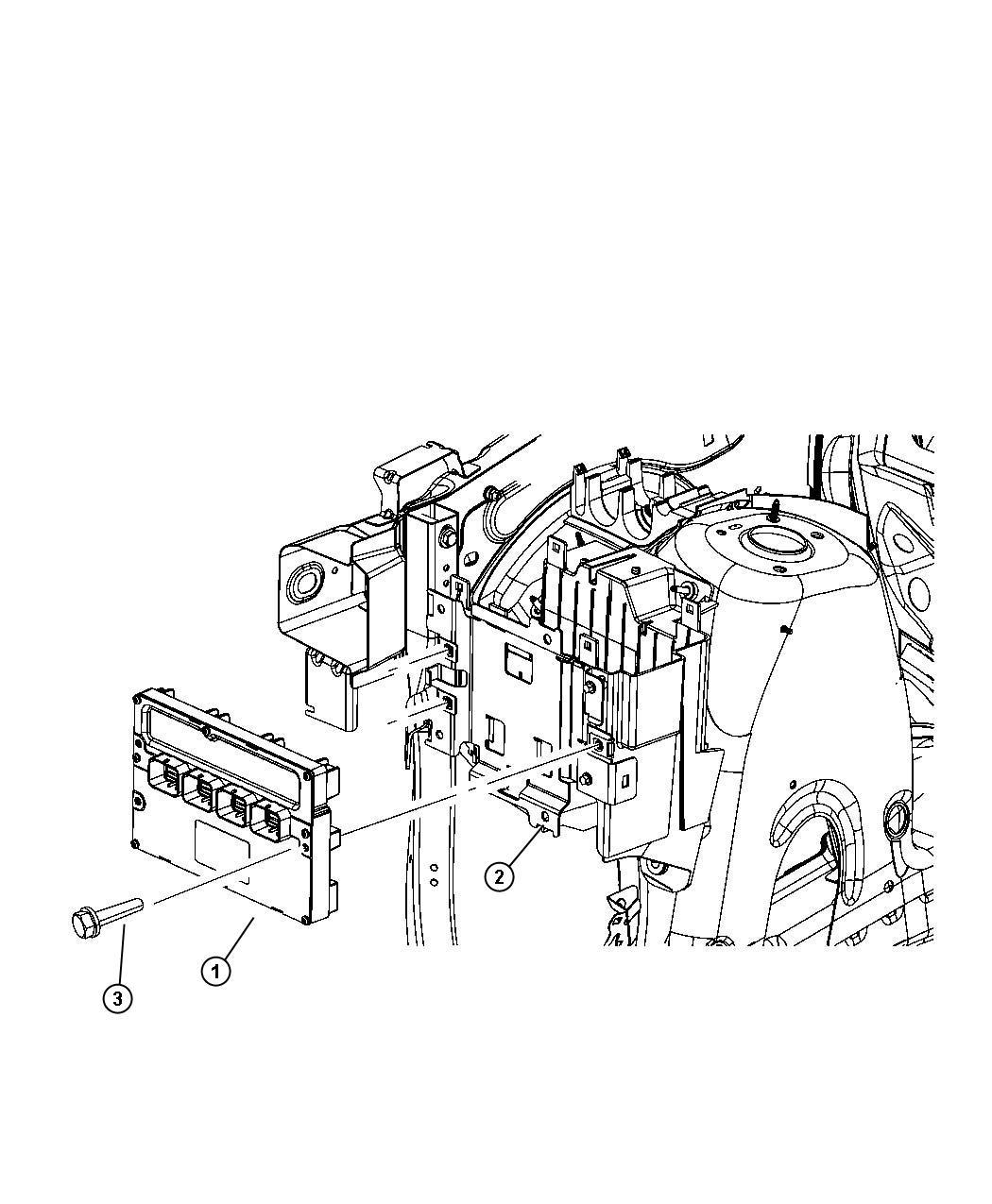 rl150582ac jeep module powertrain control engine. Black Bedroom Furniture Sets. Home Design Ideas