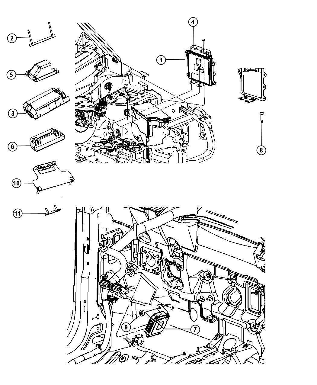05150542ae jeep module powertrain control engine. Black Bedroom Furniture Sets. Home Design Ideas
