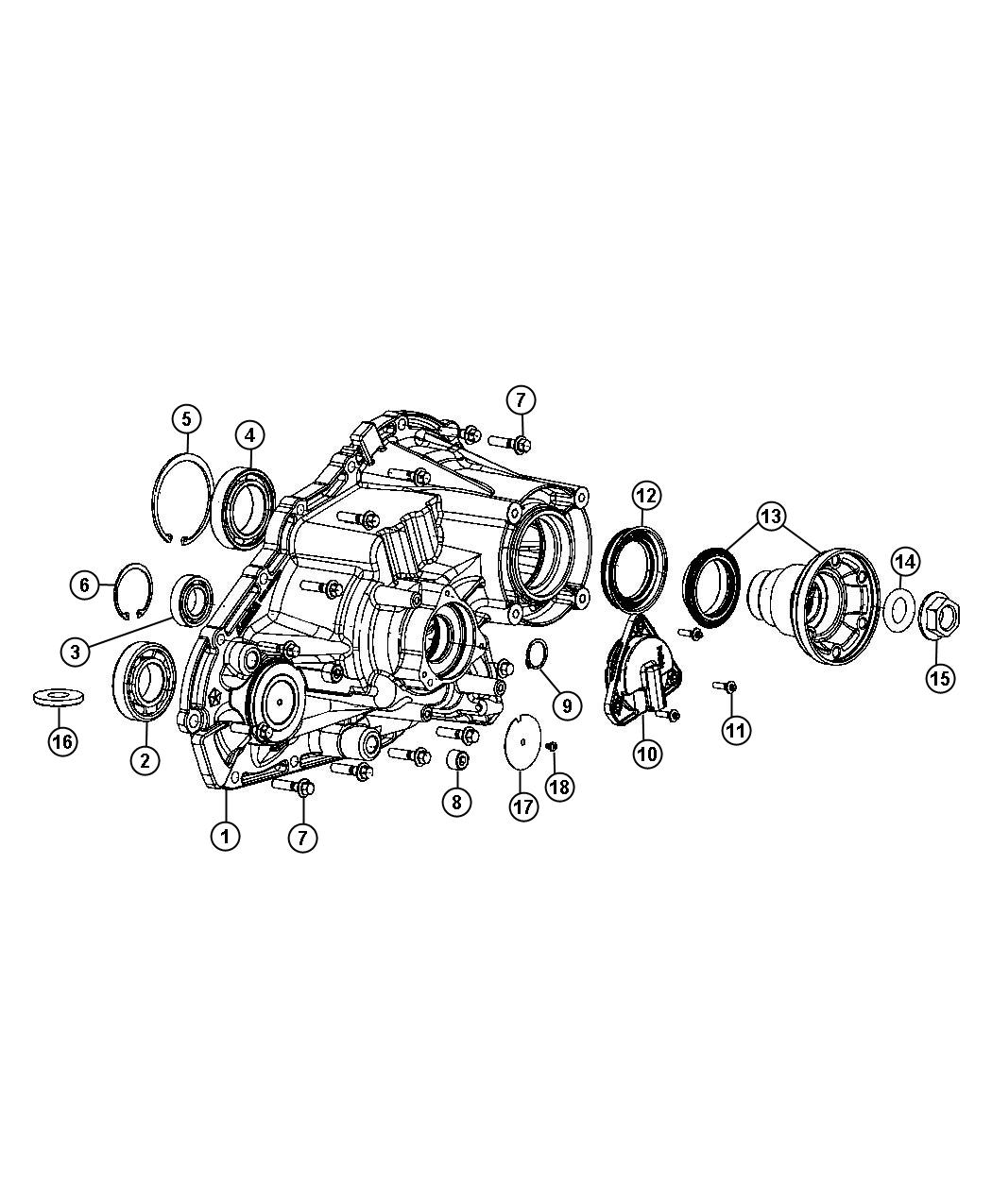 Jeep Grand Cherokee Sensor  Transfer Case Position