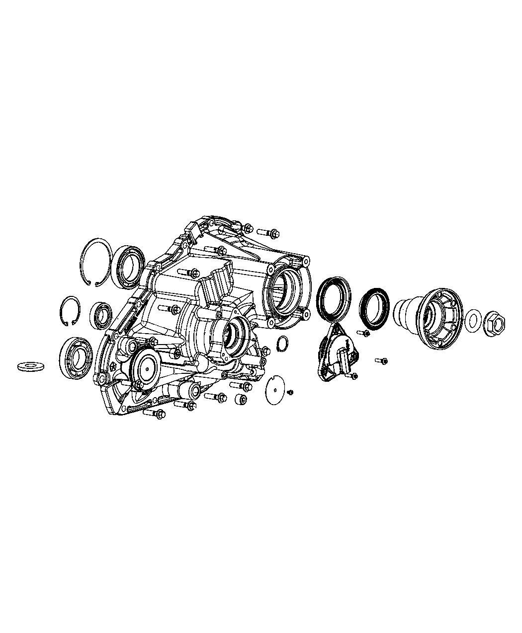 Jeep Grand Cherokee Sensor  Transfer Case Position