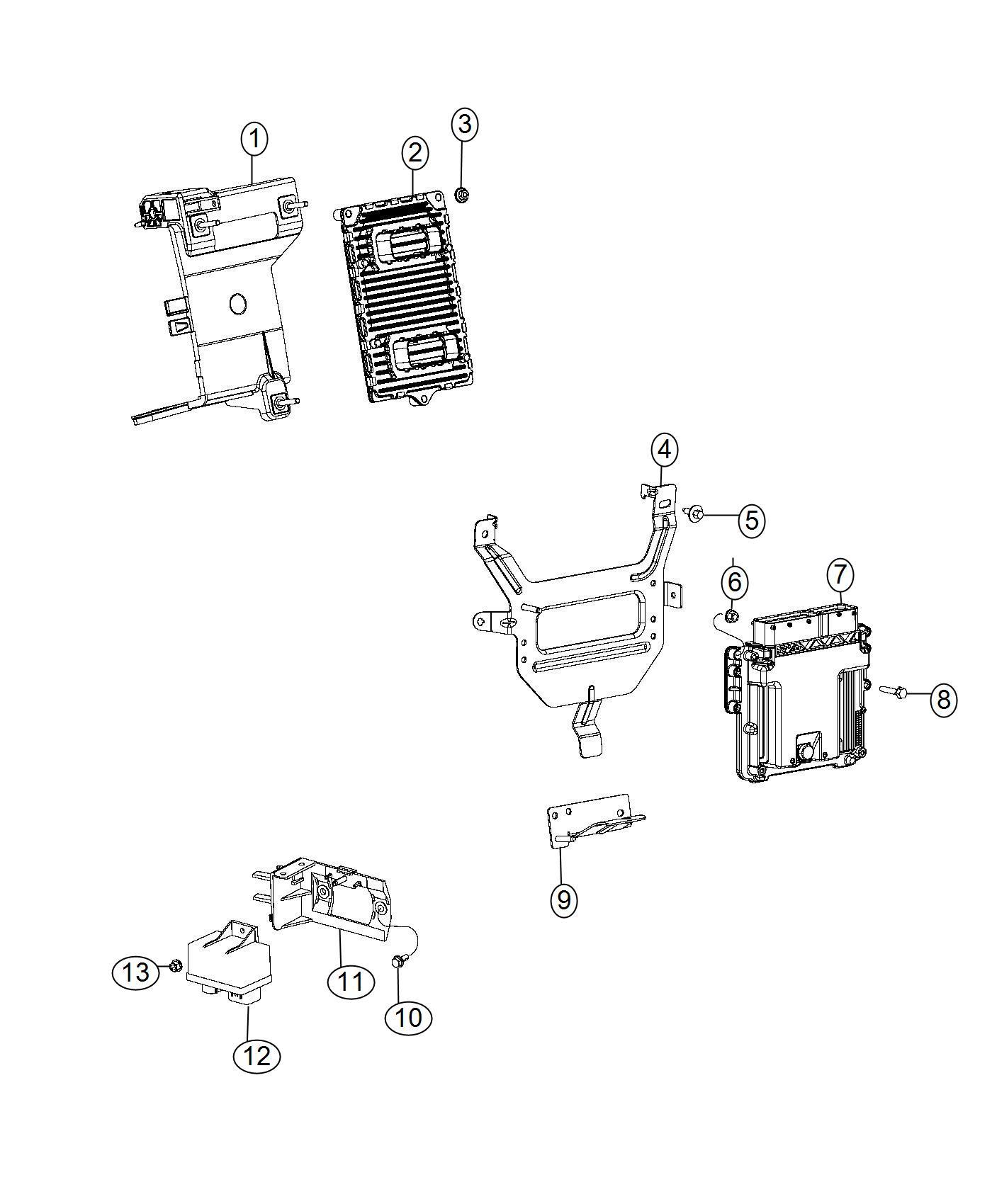 05150790ac jeep module powertrain control generic. Black Bedroom Furniture Sets. Home Design Ideas