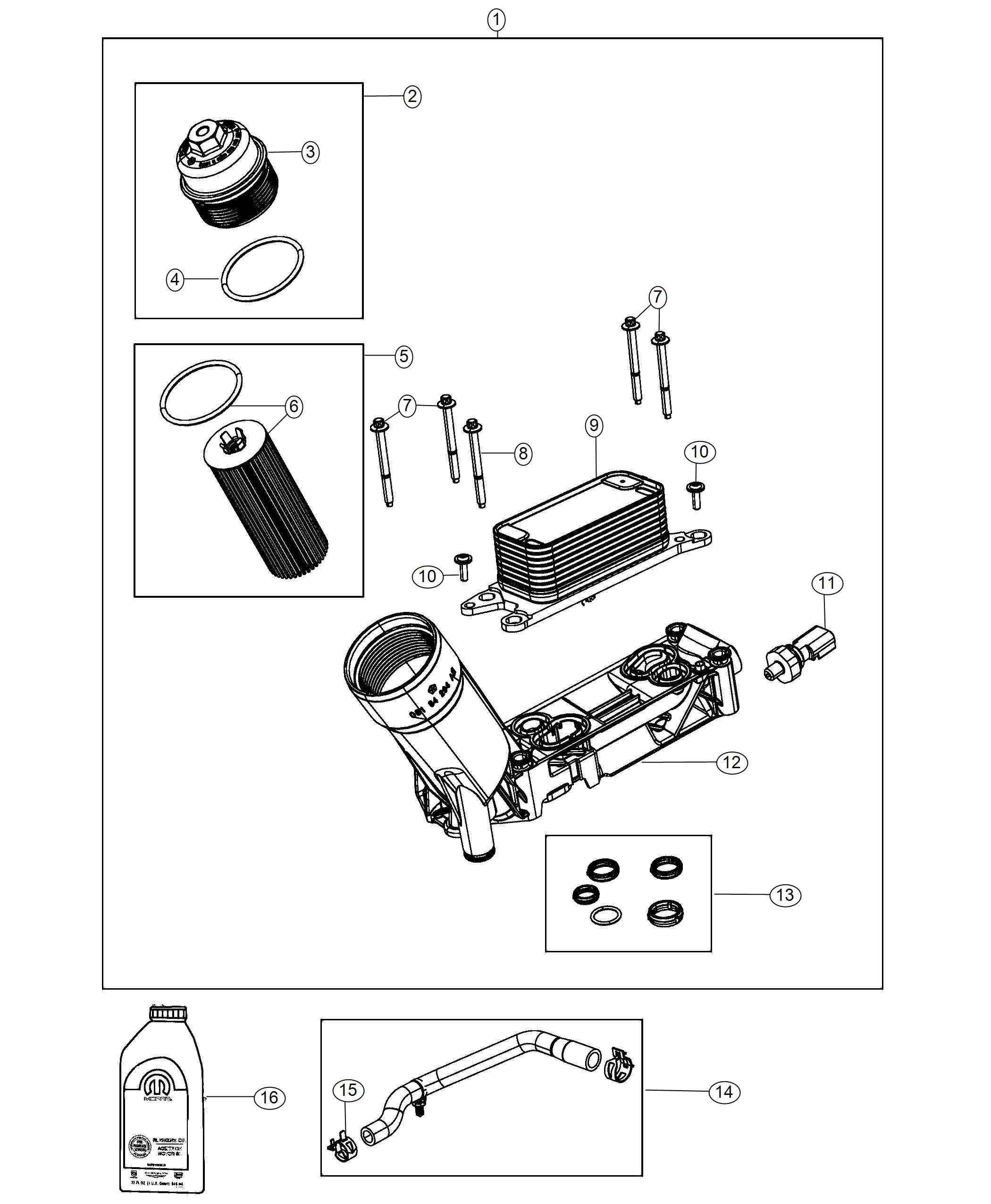 Jeep Grand Cherokee Sensor  Oil Pressure  Temperature  Pressure  Different  Illustration