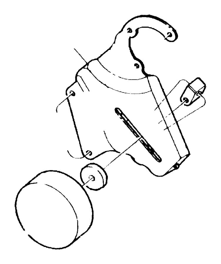 2000 jeep cherokee spacer  belt tensioner  pulley  engine