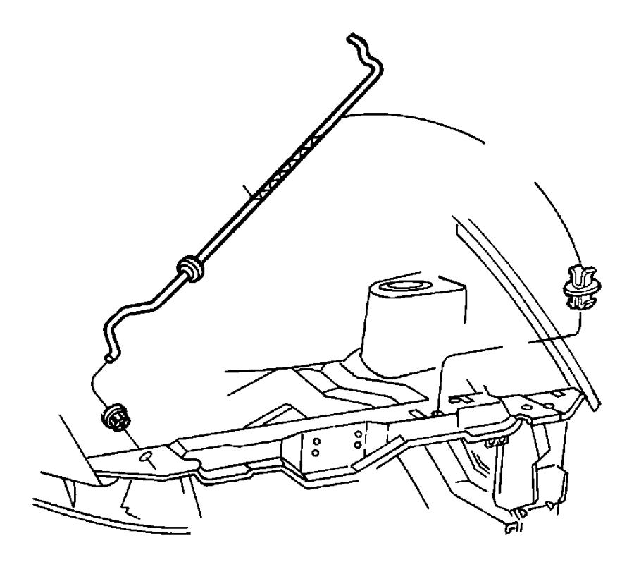 jeep wrangler clip  prop rod  plastic  catches