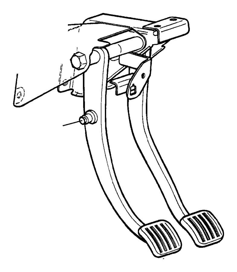 2000 Jeep Wrangler Bushing  Hydraulic Clutch Actuator