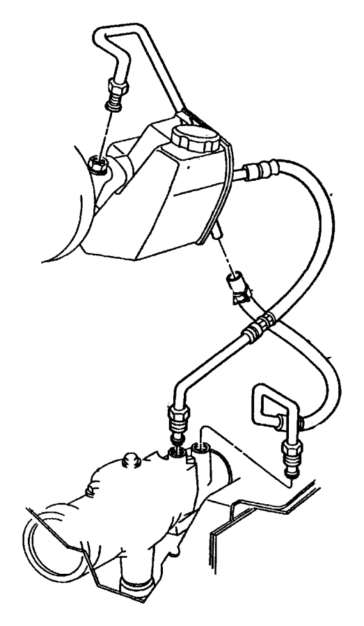 chrysler rack and pinion diagram