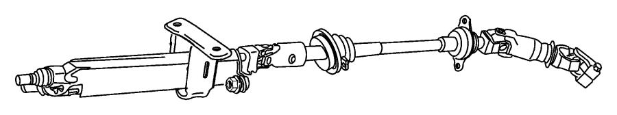 Jeep Wrangler Column. Steering. Tilt - RL057896AA | Jeep ...