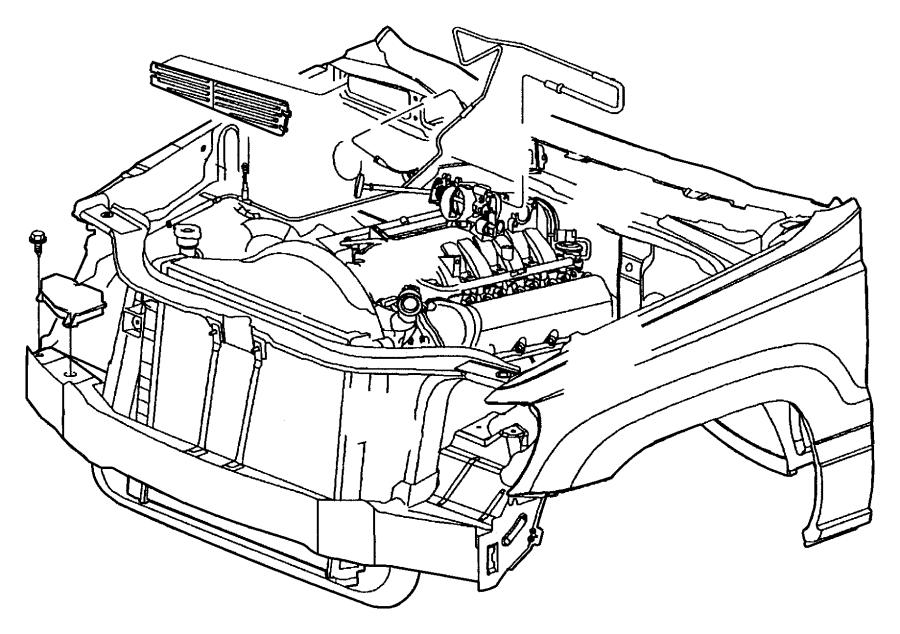 55115899 - Jeep Reservoir. Vacuum. Steering, controls ...