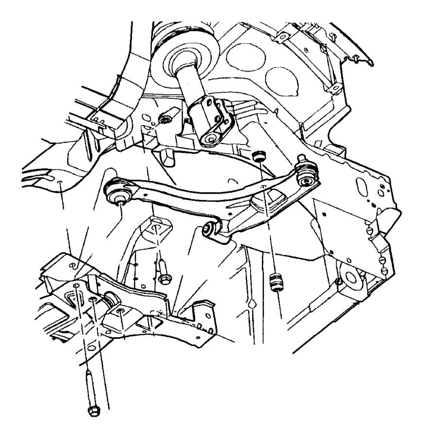 05272505aa jeep cushion sway eliminator sdb base for Suspension sdb