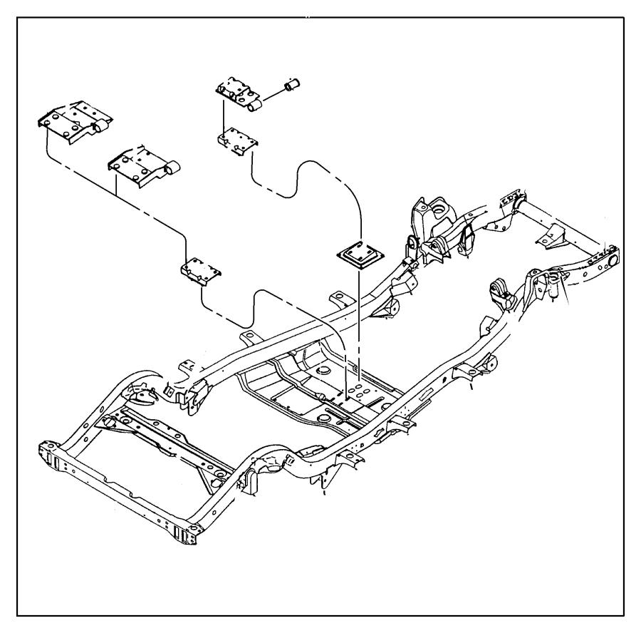 I on 2013 Jeep Wrangler Frame Diagram