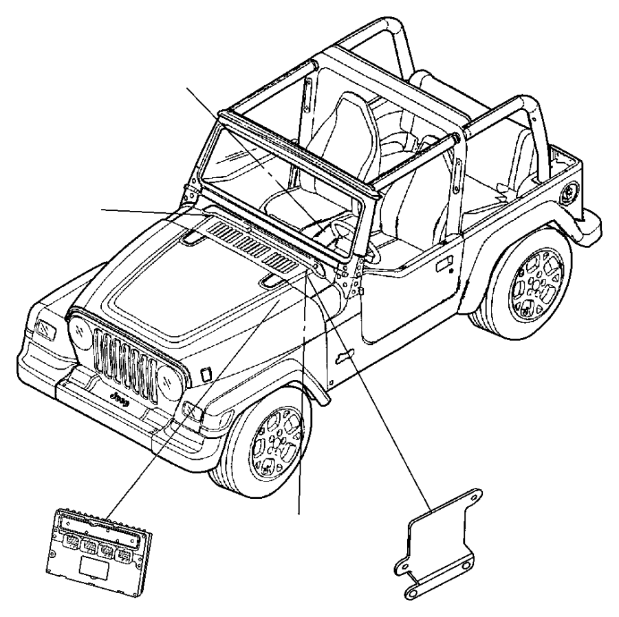 r6044529ac jeep module powertrain control generic. Black Bedroom Furniture Sets. Home Design Ideas