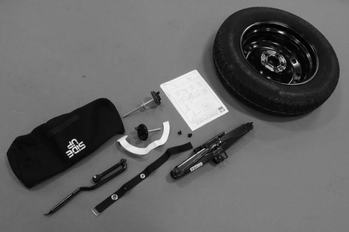 Jeep Renegade Emergency Kit  Tire Repair