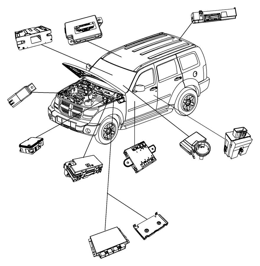 Mygig Rer To Amp Wiring Schematic: Jeep Liberty Module. Telematics. Uconnect, Hands, Free