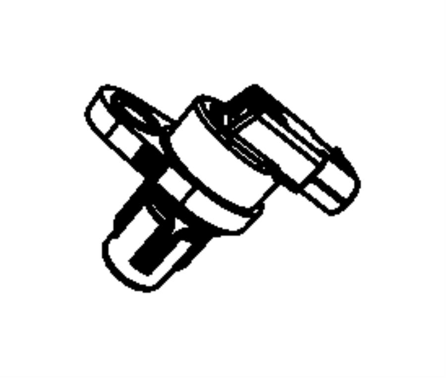 Jeep Sensor. Camshaft. Sensors, Engine, Gas