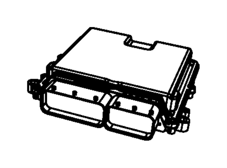 05094159ae jeep module powertrain control export. Black Bedroom Furniture Sets. Home Design Ideas