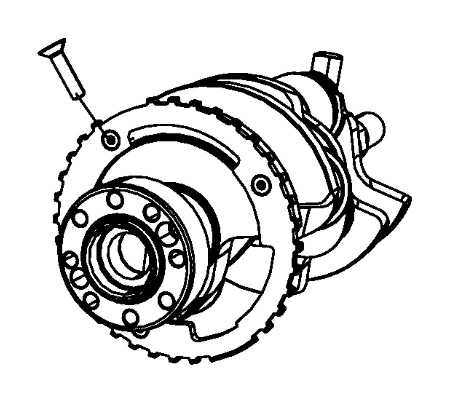 jeep patriot reluctor wheel  crankshaft  bearings  damper