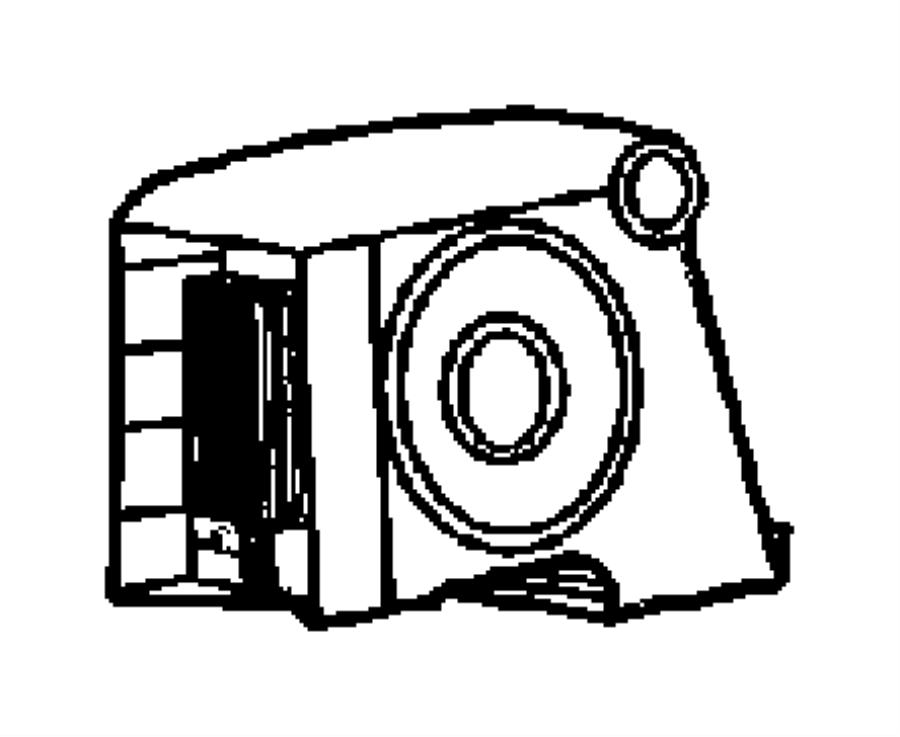 2014 jeep wrangler speaker  tweeter  1  door  export  left