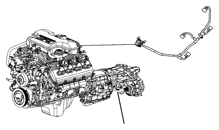jeep grand cherokee wiring  jumper  multiple displacement solenoid  engine