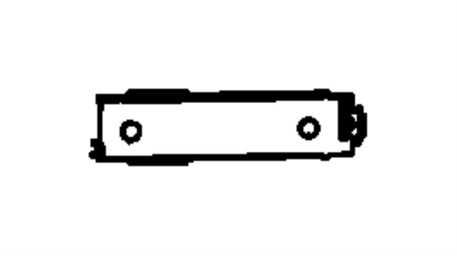 jeep grand cherokee dampener  glove box door  export  trim