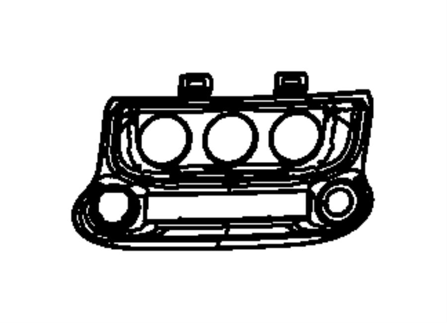 1RK43DX9AB     Jeep    Holder Grocery bag Trim   all trim
