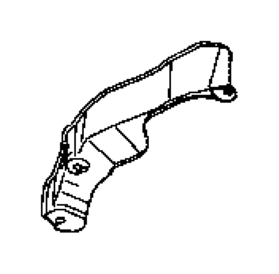 2011 jeep compass shield  wiring  powertrain  engine