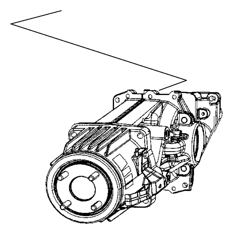 2014 jeep patriot differential  rear axle  suspension